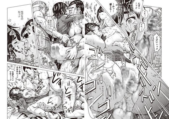 黒髪ショートカットの巨乳娘がジャージを着たままマンコとアナルの二穴同時SEX(kesoのエロ漫画「厚生中出し委員会」)
