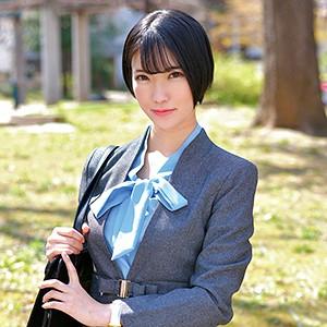 美巨乳ショートカット東条蒼の素人AV「あおいさん」